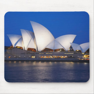 Sydney Opera House at Night, Sydney, New South Mouse Pad