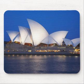 Sydney Opera House at Night, Sydney, New South Mousepad