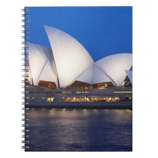 Sydney Opera House at Night, Sydney, New South Notebooks