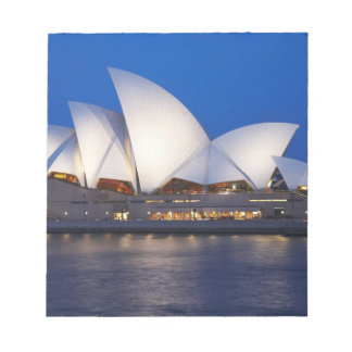 Sydney Opera House at Night, Sydney, New South Notepad