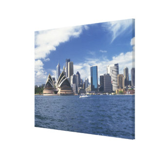 Sydney opera house, Australia Canvas Print