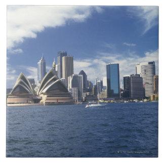 Sydney opera house, Australia Large Square Tile