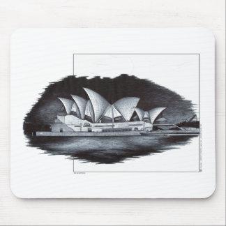 Sydney Opera House Australia Mouse Pad