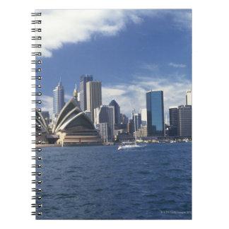 Sydney opera house, Australia Spiral Note Books