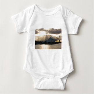 Sydney Opera House Baby Bodysuit