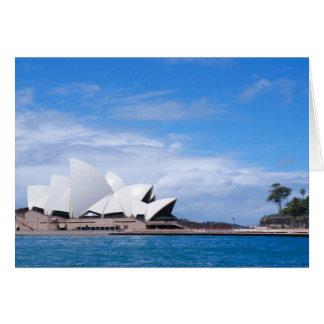 Sydney Opera House Card