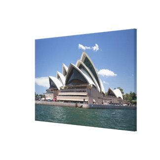 Sydney Opera House exterior, Sydney, New South Canvas Print