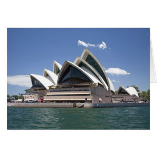 Sydney Opera House exterior, Sydney, New South Card