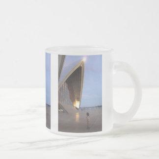 Sydney Opera House Frosted Glass Coffee Mug