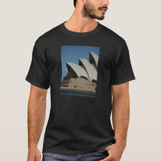 Sydney Opera House In Sunlight Backed By Cloud T-Shirt