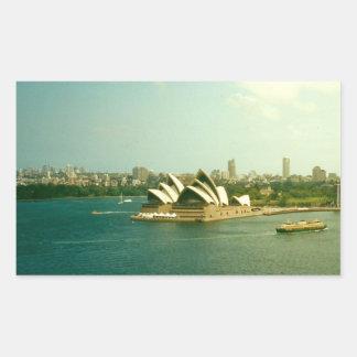Sydney Opera House Rectangular Sticker