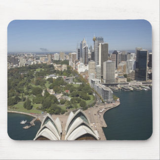 Sydney Opera House, Royal Botanic Gardens, CBD Mouse Mat