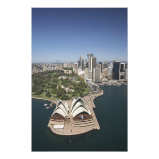 Sydney Opera House, Royal Botanic Gardens, CBD Photo Print