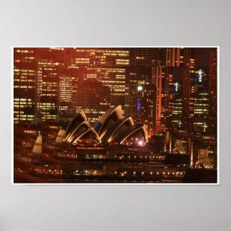 Sydney Opera House Sparkling, Sydney Opera Hous... Poster