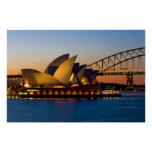 Sydney Opera House & Sydney Harbour Bridge