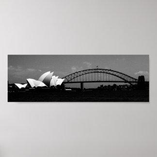 Sydney Oprah House Poster