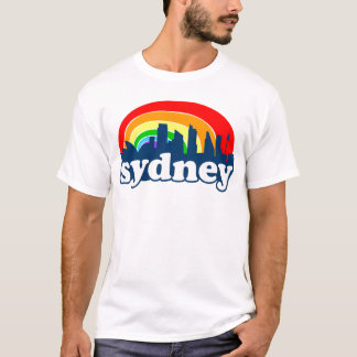 Sydney Rainbow Skyline T-Shirt
