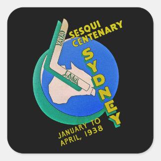 Sydney Sesqui Centenary Square Sticker