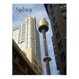 sydney skinny tower postcard