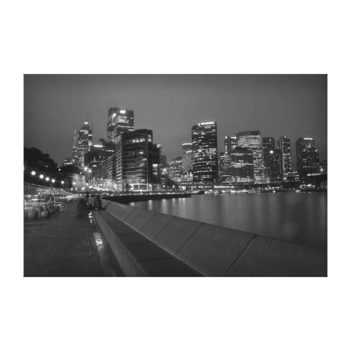 Sydney Skyline Canvas Prints