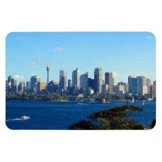 sydney skyline flexible magnet