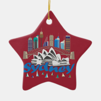 Sydney Skyline Ornament