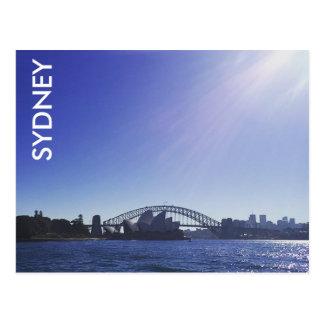 sydney sparkles postcard