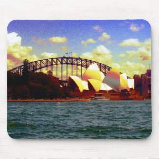 Sydney stylized mousepad