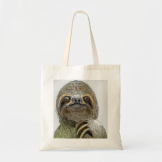 Sydney The Three-Toed Sloth Budget Tote Bag
