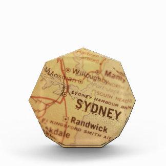 SYDNEY Vintage Map