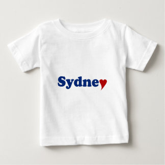 Sydney with Heart Baby T-Shirt