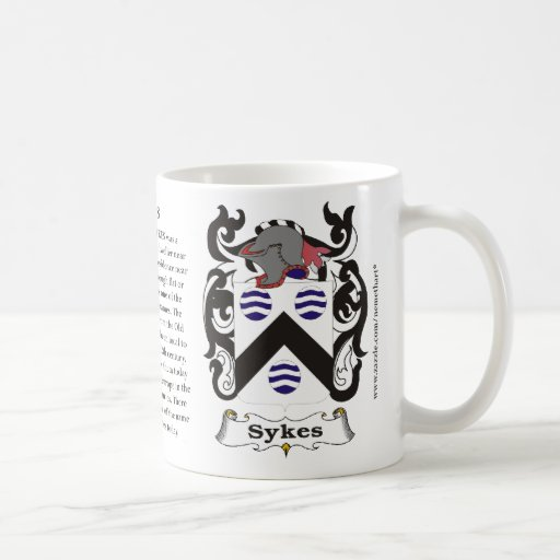 Sykes, the origin, the meaning and the crest mugs