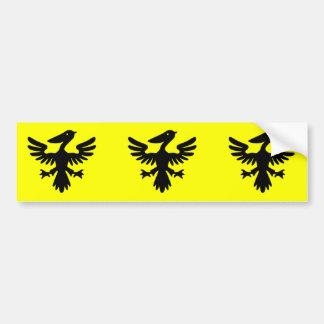 Syldavia, Democratic Republic of the Congo flag Bumper Sticker