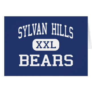 Sylvan Hills - Bears - High - Sherwood Arkansas Card