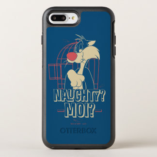 SYLVESTER™- Naughty? Moi? OtterBox Symmetry iPhone 8 Plus/7 Plus Case