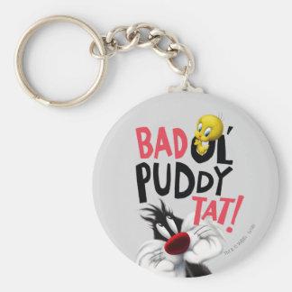 SYLVESTER™ & TWEETY™- Bad Ol' Puddy Tat Key Ring