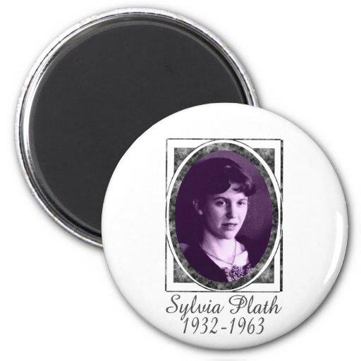 Sylvia Plath Refrigerator Magnet