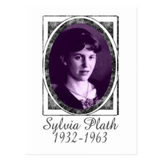 Sylvia Plath Postcard