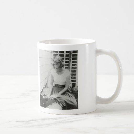 Sylvia Plath Typewriter Mug