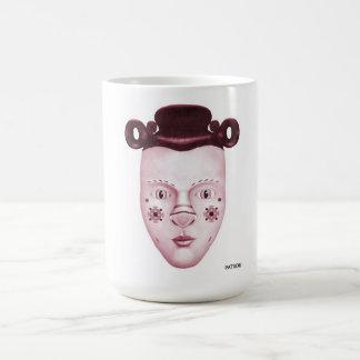 Sylvie Pink Basic White Mug