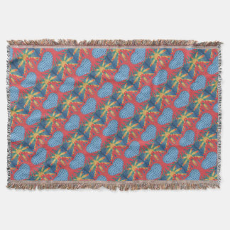 Symbiosis Throw Blanket