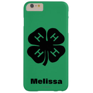 Symbol: 4-H Club Barely There iPhone 6 Plus Case