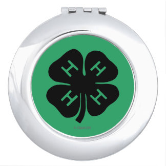 Symbol: 4-H Club Compact Mirror