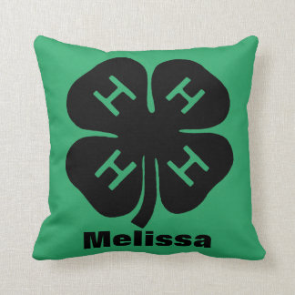 Symbol: 4-H Club Cushion