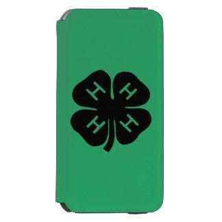Symbol: 4-H Club Incipio Watson™ iPhone 6 Wallet Case