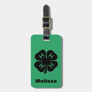 Symbol: 4-H Club Bag Tags