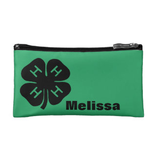 Symbol: 4-H Club Makeup Bag