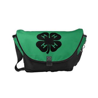 Symbol: 4-H Club Messenger Bags