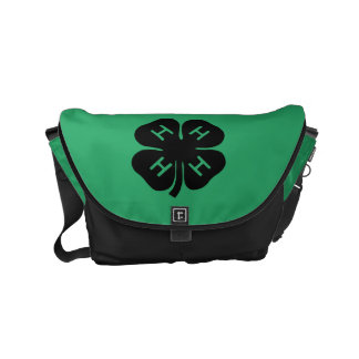 Symbol: 4-H Club Messenger Bags
