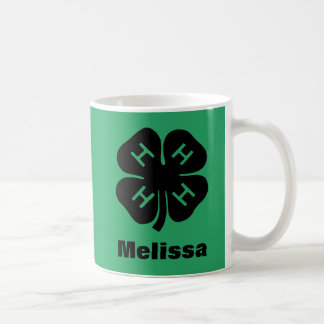 Symbol: 4-H Club Basic White Mug